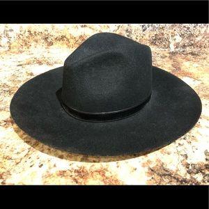 Sole Society Wide Brim Wool Hat